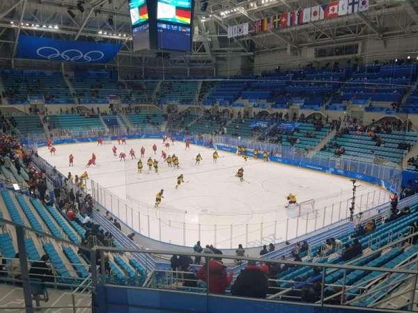 Gangneung Ice Hockey Centre, Abschnitt: 226, Reihe: D, Platz: 6