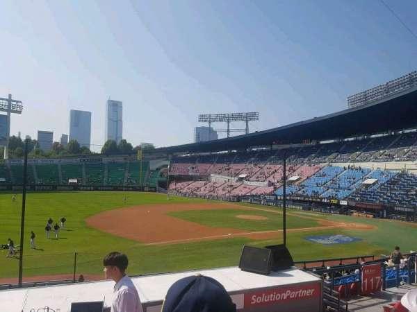 Jamsil Baseball Stadium, Abschnitt: 220, Reihe: 6, Platz: 56