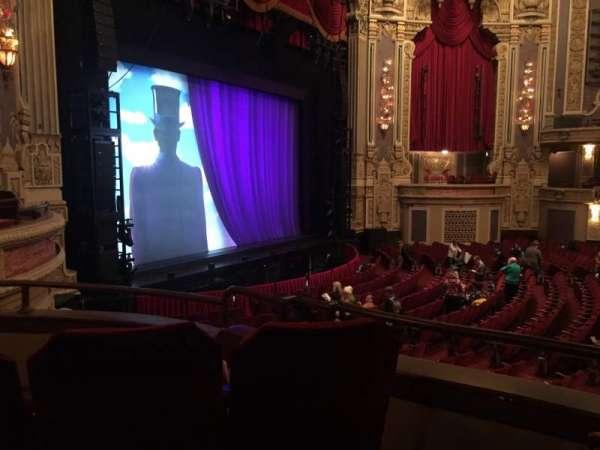 Oriental Theatre, Abschnitt: DCIR-L, Reihe: CC, Platz: 7