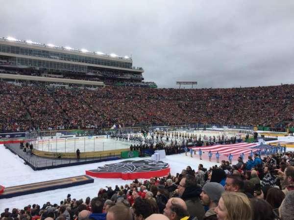 Notre Dame Stadium, Abschnitt: 13, Reihe: 29, Platz: 13