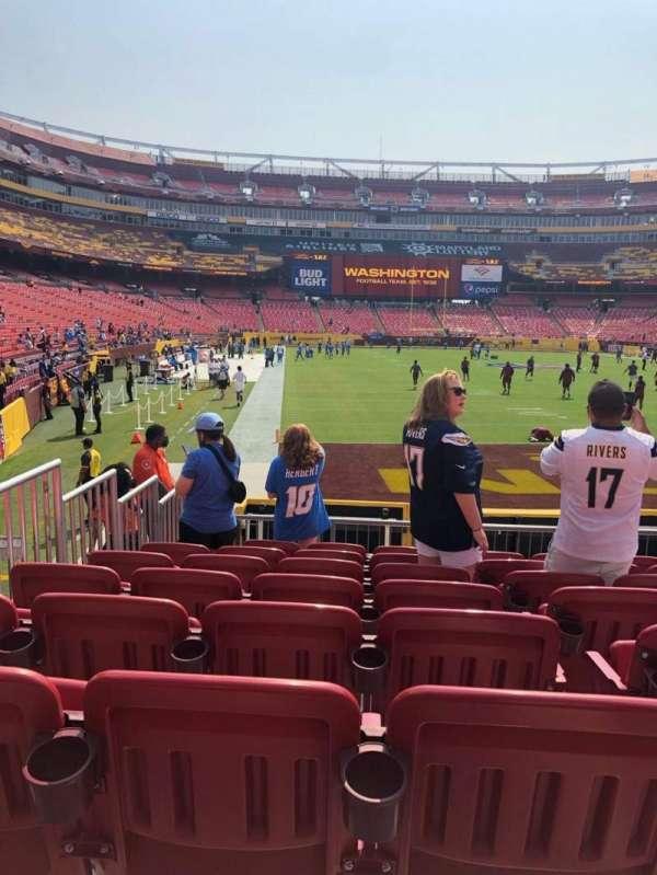 FedEx Field, Bereich: 113, Reihe: 11, Platz: 12