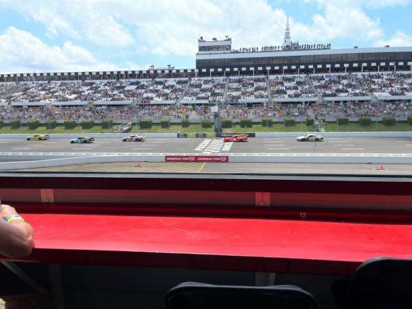 Pocono Raceway, Bereich: L3N, Reihe: B, Platz: 12
