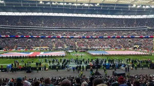 Wembley Stadium, Abschnitt: 123, Reihe: 37, Platz: 24