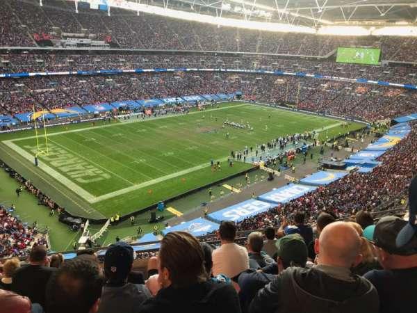 Wembley Stadium, Abschnitt: 507, Reihe: 7, Platz: 186