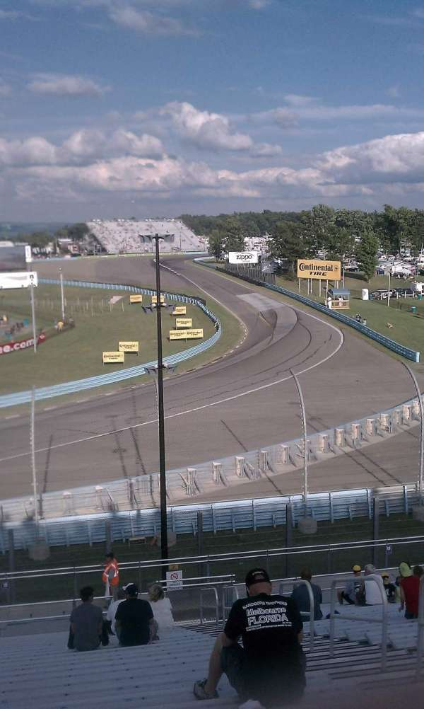 Watkins Glen International, Abschnitt: Riesbeck Grandstand, Reihe: 22, Platz: 4