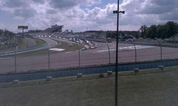 Watkins Glen International, Abschnitt: Seneca Grandstand