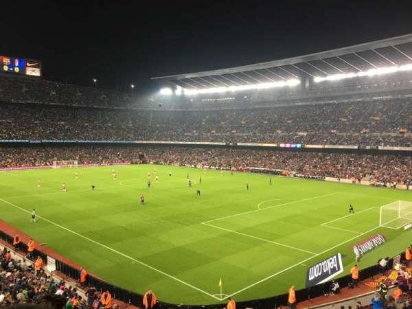 Camp Nou, Abschnitt: 238, Reihe: 3, Platz: 12