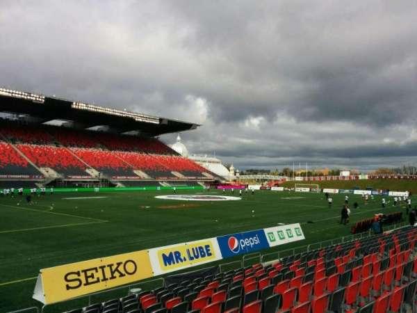 TD Place Stadium, Abschnitt: W, Reihe: 12, Platz: 23