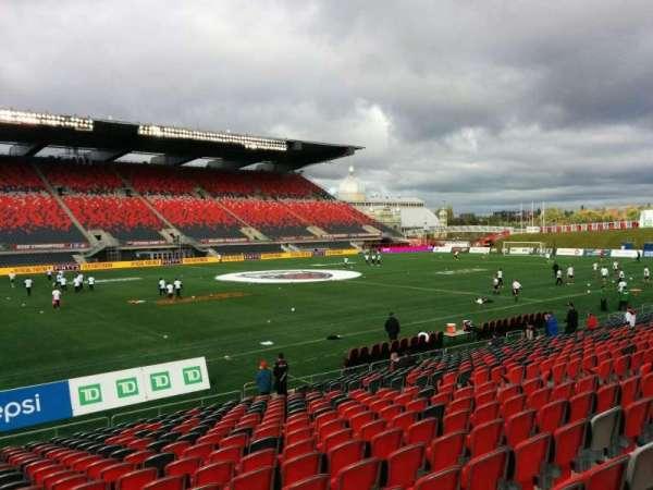 TD Place Stadium, Abschnitt: V, Reihe: 19, Platz: 16