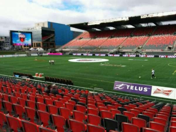 TD Place Stadium, Abschnitt: P, Reihe: 18, Platz: 10