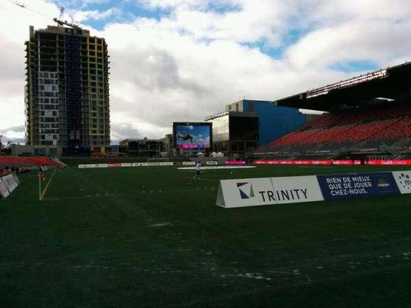 TD Place Stadium, Abschnitt: K, Reihe: 1, Platz: 3