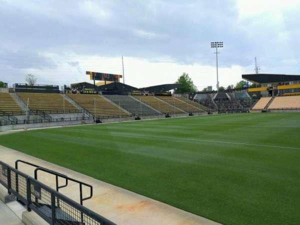 Fifth Third Bank Stadium, Abschnitt: 124, Reihe: b, Platz: 7