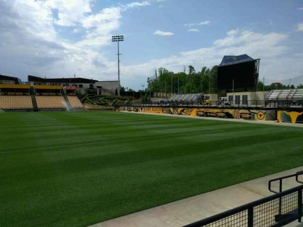 Fifth Third Bank Stadium, Abschnitt: 129, Reihe: c, Platz: 7