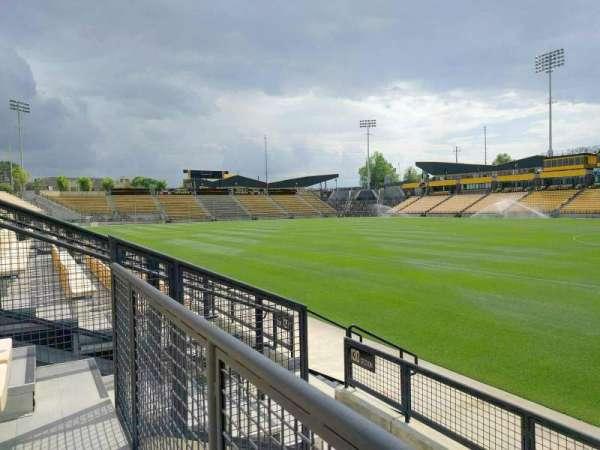 Fifth Third Bank Stadium, Abschnitt: 130, Reihe: d, Platz: 7