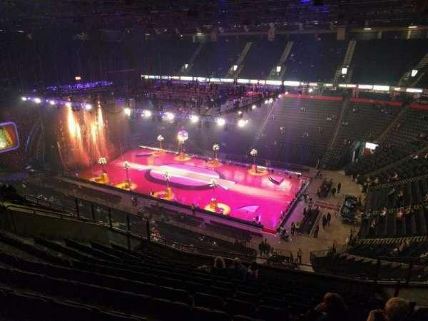 Manchester Arena, Abschnitt: 205, Reihe: m, Platz: 19