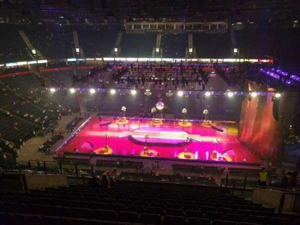 Manchester Arena, Abschnitt: 214, Reihe: p, Platz: 13