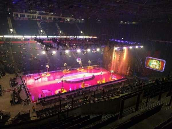 Manchester Arena, Abschnitt: 212, Reihe: k, Platz: 21
