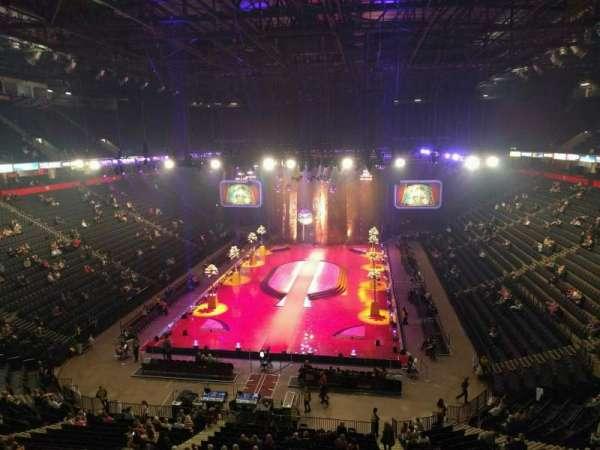 Manchester Arena, Abschnitt: 209, Reihe: c, Platz: 10