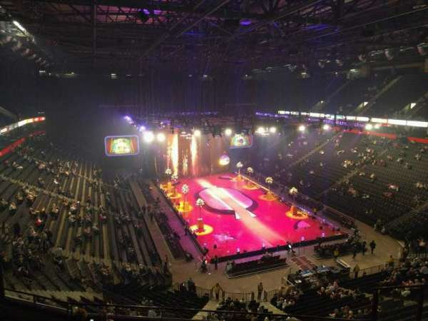 Manchester Arena, Abschnitt: 207, Reihe: h, Platz: 18