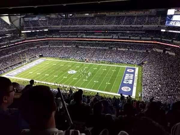 Video from Lucas Oil Stadium