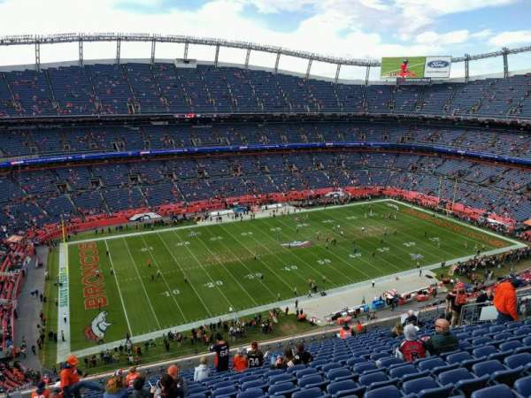 Empower Field at Mile High Stadium, Abschnitt: 538, Reihe: 16, Platz: 21