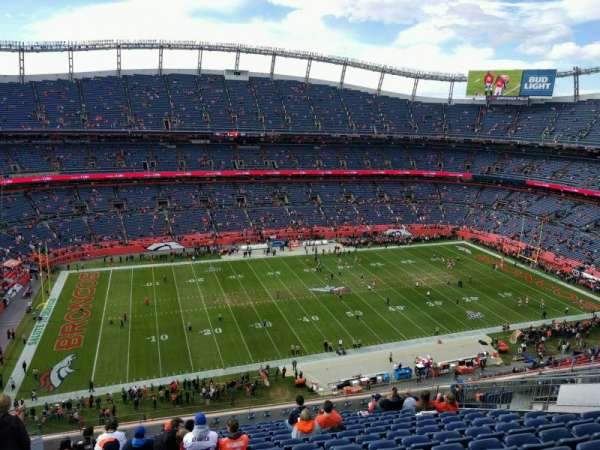 Empower Field at Mile High Stadium, Abschnitt: 537, Reihe: 14, Platz: 21
