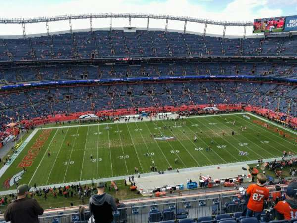 Empower Field at Mile High Stadium, Abschnitt: 536, Reihe: 10, Platz: 14