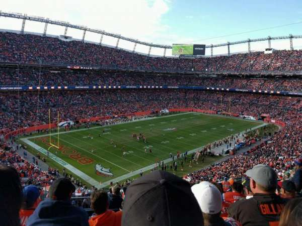Empower Field at Mile High Stadium, Abschnitt: 345, Reihe: 16, Platz: 15