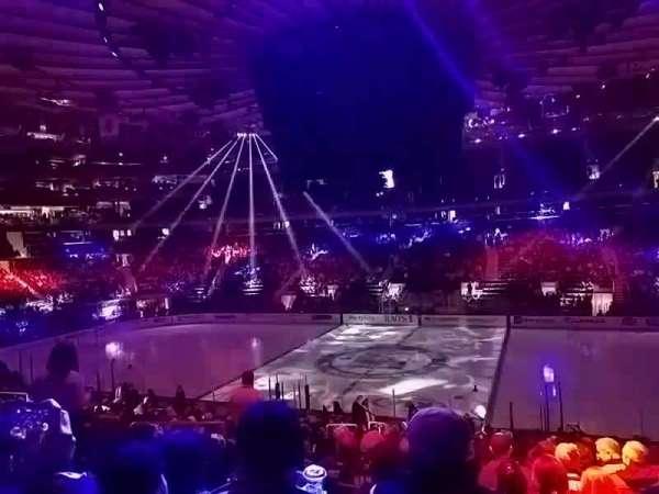 Madison Square Garden, Abschnitt: 108, Reihe: 20, Platz: 6