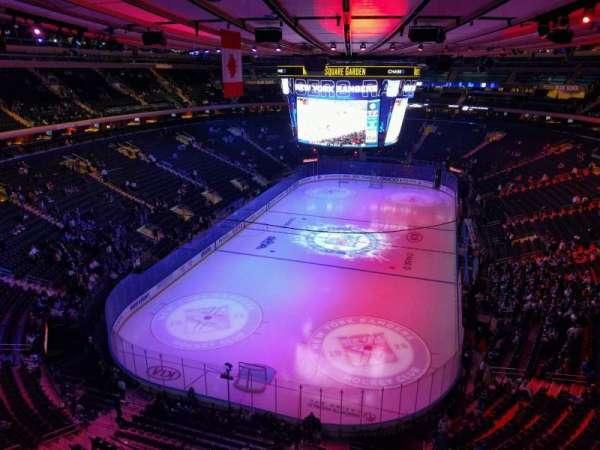 Madison Square Garden, Abschnitt: 306, Reihe: 1, Platz: 17