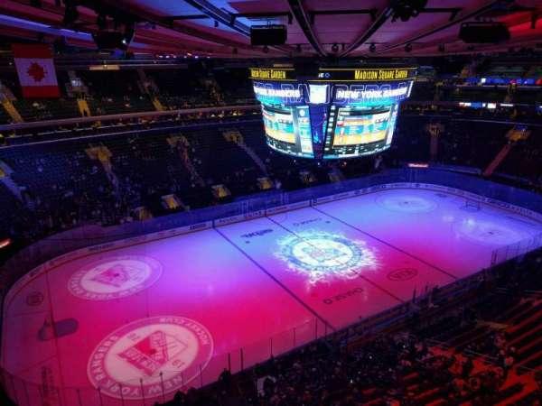 Madison Square Garden, Abschnitt: 311, Reihe: 1, Platz: 6
