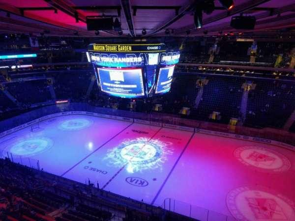 Madison Square Garden, Abschnitt: 314, Reihe: 1, Platz: 21