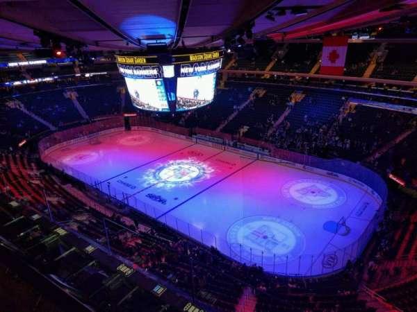 Madison Square Garden, Abschnitt: 328, Reihe: 2, Platz: 3