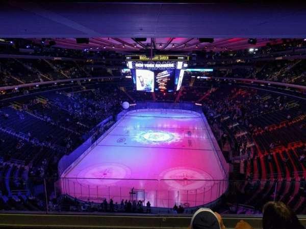Madison Square Garden, Abschnitt: 416, Reihe: 3, Platz: 10