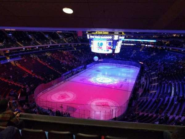 Madison Square Garden, Abschnitt: 417, Reihe: 4, Platz: 12