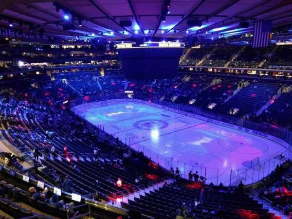 Madison Square Garden, Abschnitt: 413, Reihe: 1, Platz: 1