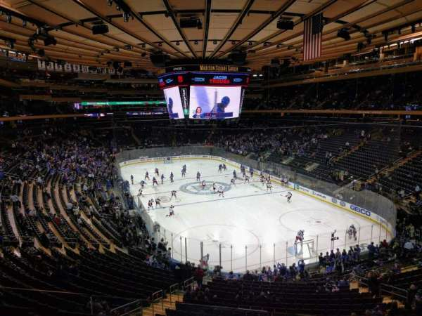 Madison Square Garden, Abschnitt: 216, Reihe: 3, Platz: 13
