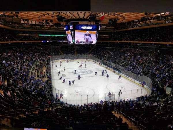 Madison Square Garden, Abschnitt: 203, Reihe: 3, Platz: 6
