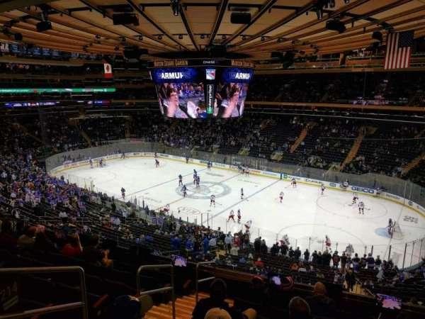 Madison Square Garden, Abschnitt: 214, Reihe: 8, Platz: 1