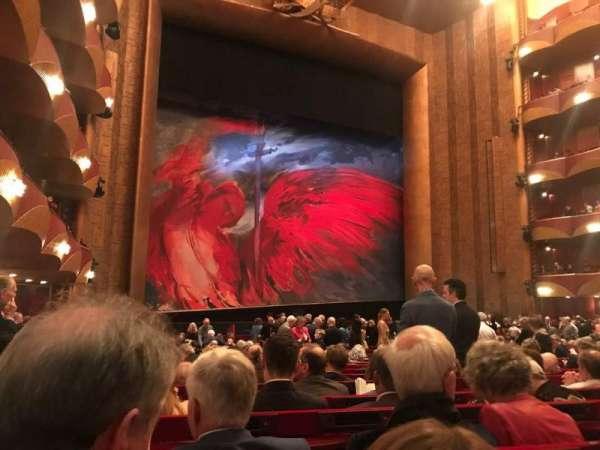 Metropolitan Opera House - Lincoln Center, Abschnitt: Orch, Reihe: V, Platz: 19