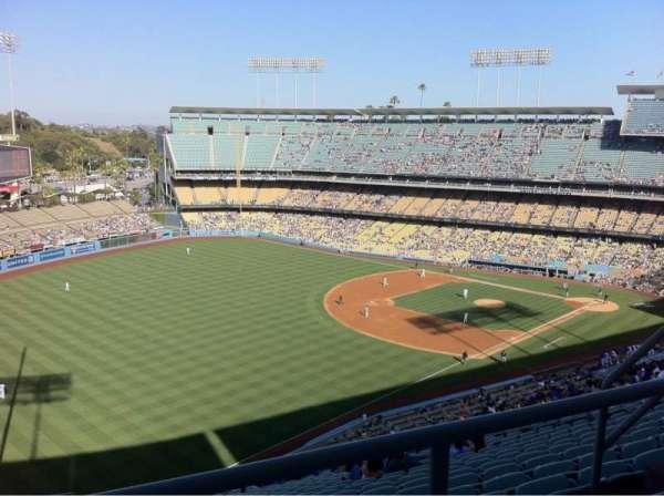 Dodger Stadium, Abschnitt: 45rs, Reihe: Bb, Platz: 7