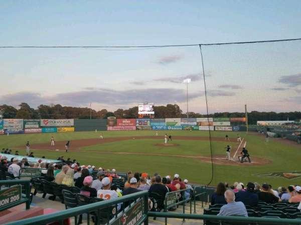 Arthur W. Perdue Stadium, Abschnitt: 203, Reihe: CC, Platz: 10