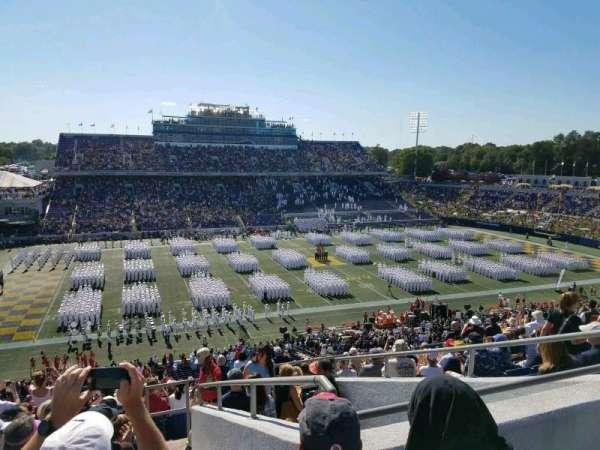 Navy-Marine Corps Memorial Stadium, Abschnitt: 131, Reihe: 17, Platz: 11
