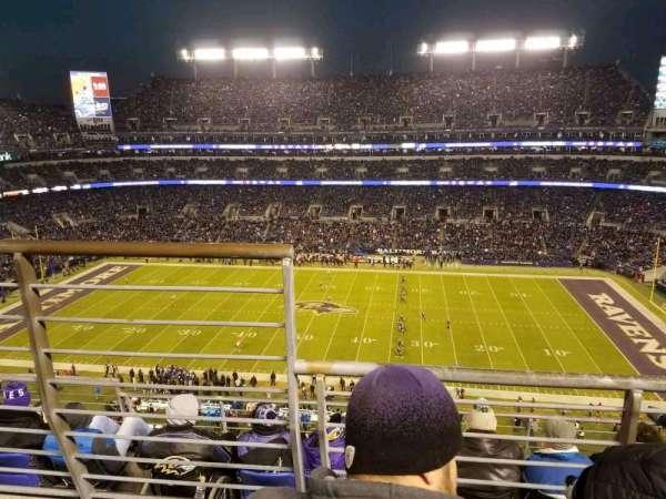 M&T Bank Stadium, Abschnitt: 525, Reihe: 5, Platz: 14