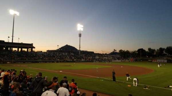 Scottsdale Stadium, Bereich: 126, Reihe: 12, Platz: 4