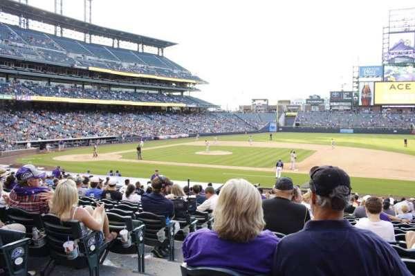 Coors Field, Abschnitt: 121, Reihe: 24, Platz: 12