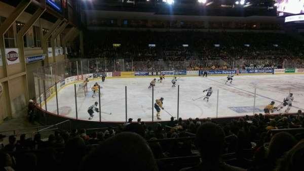 Erie Insurance Arena, Bereich: 201, Reihe: P, Platz: 6