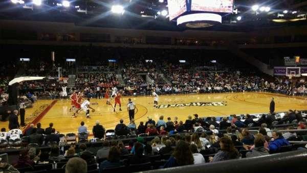 Erie Insurance Arena, Bereich: 203, Reihe: K, Platz: 11