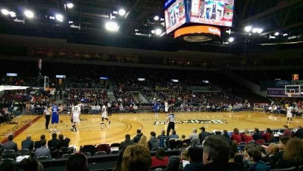 Erie Insurance Arena, Bereich: 103, Reihe: H, Platz: 9