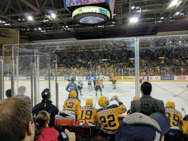 Erie Insurance Arena, Bereich: 119, Reihe: E, Platz: 2